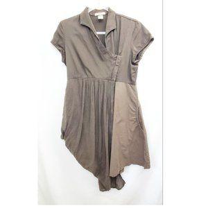 PRAIRIE UNDERGROUND Drape Shirt Tunic Dress EUC